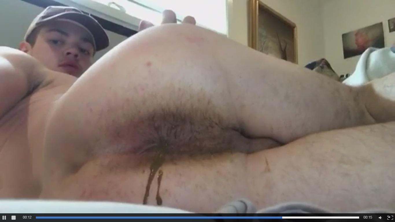 Gay man bare ass face fart free pics